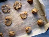 {I Made These For Me} Vegan Gluten-free Peanut Butter Chocolate Chip Cookies