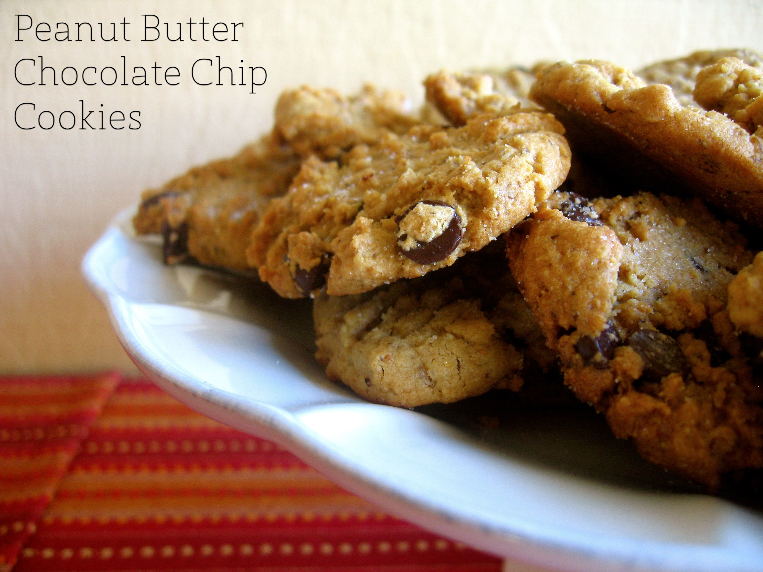 ... Peanut Butter Chocolate Chip Cookies | Nourish, Preserve, and Flourish