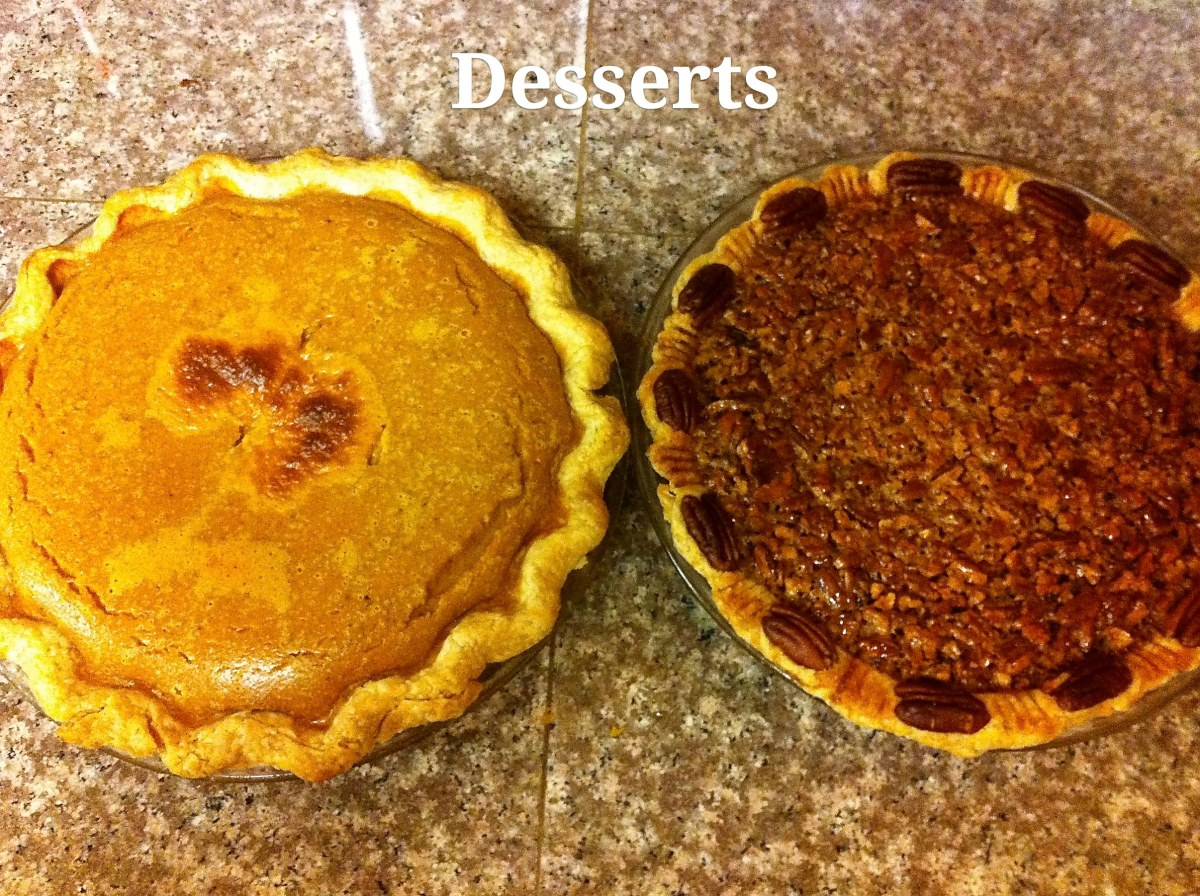 {THANKSgiving} Delicious (mostly) vegan and gluten-free dishes