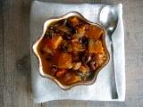 {Flavors of Fall} Black Soybean and Kabocha SquashStew