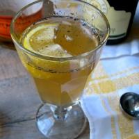 {Progressive Party} Vanilla Champagne Bourbon Cocktail